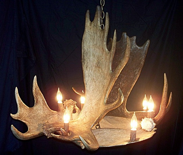 Moose Chandelier