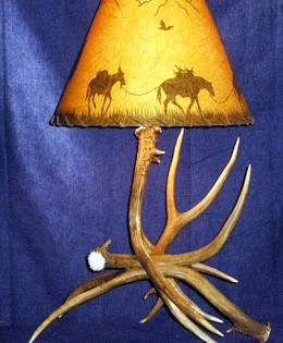 Mule Deer Table Lamp